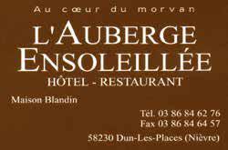 Restaurant Morvan La Cimentelle